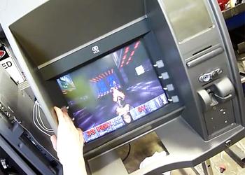 Фото Doom на банкомате